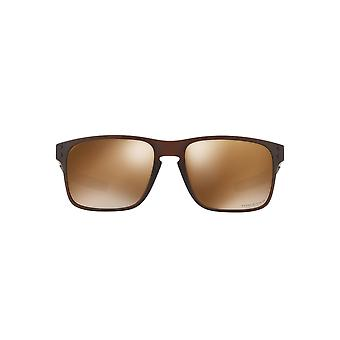 Oakley Holbrook Mix Sunglasses In Matte Rootbeer Tungsten Prizm Polarised