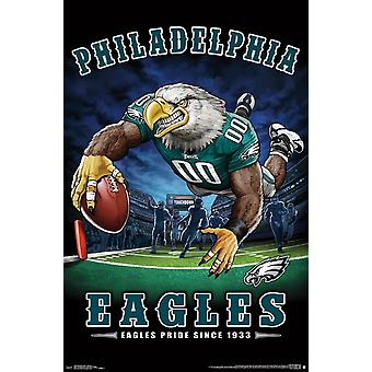 Philadelphia Eagles - End Zone Poster afdrukken