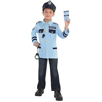 Amscan Unisex Police Costume & Accessories (Babies and Children , Costumes)