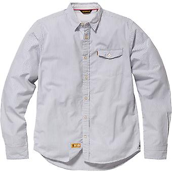 Caterpillar Mens Exchange Long Sleeved Shirt Stripe