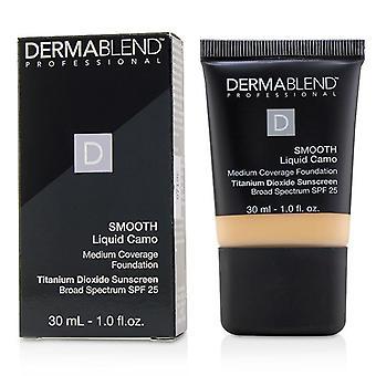 Dermablend Smooth Liquid Camo Foundation SPF 25 (Medium Coverage) - Linen (0C) - 30ml/1oz