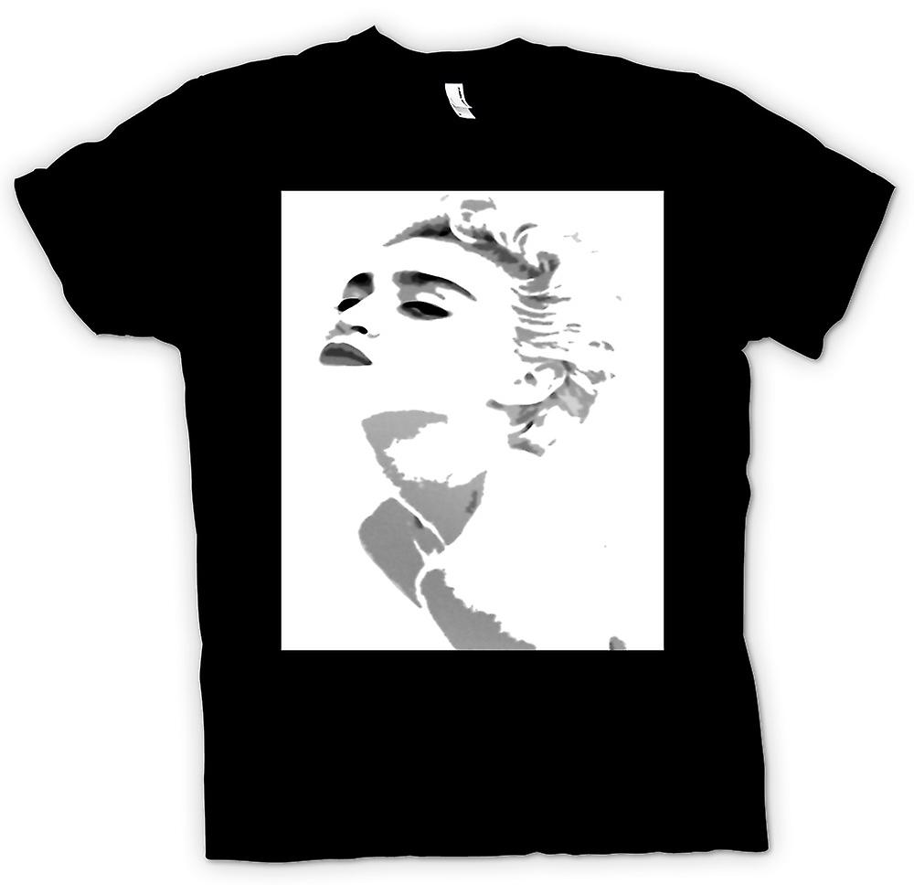Womens T-shirt - Madonna - Grey