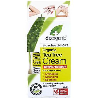 Dr. Organic Tea Tree Antiseptic Cream (Cosmetics , Facial , Creams with treatment)