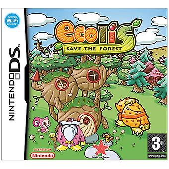 Ecolis Save The Forest Game (Nintendo DS)