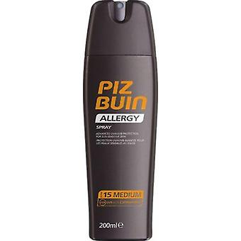 Piz Buin Allergy Sun Sensitive Skin Spray SPF 15 Medium 200 ml