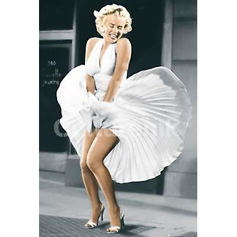 Marilyn Monroe Seven Year Itch Poster Print (36 X 24)