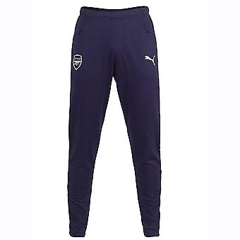 2018-2019 Arsenal Puma Casual Performance Sweat Pants (Peacot)