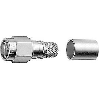 SMA connector Plug, straight 50 Ω Telegärtner J01150A0641