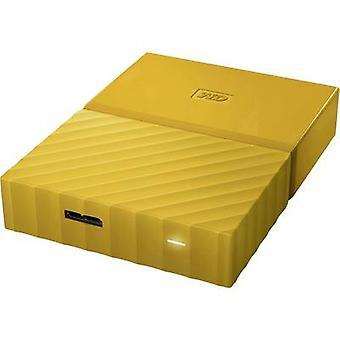 Unidad de disco duro Western Digital My Passport 2.5 externa TB 4 amarillo USB 3.0