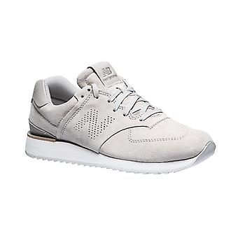 New balance real leather sneakers sneaker grey