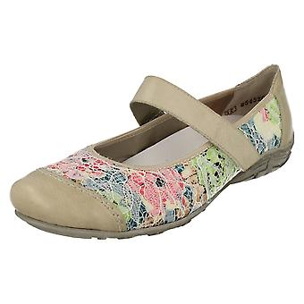 Ladies Rieker Flat Shoes L2072