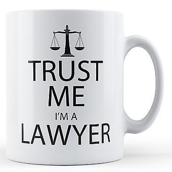 Zaufaj mi, ja jestem prawnikiem - Wydrukowano kubek