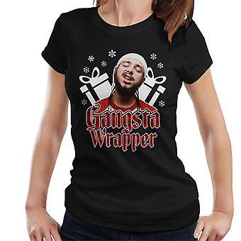 Gangsta Wrapper Post Malone Christmas Women's T-Shirt