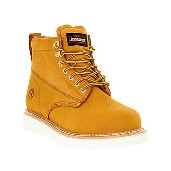 Jesse James Brown Craze Workwear Safety Boots