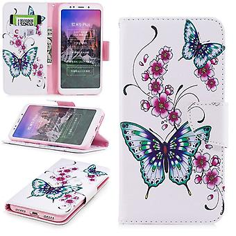 For Samsung Galaxy A7 A750F 2018 synthetic leather pocket book motif 22 protection sleeve case cover pouch new