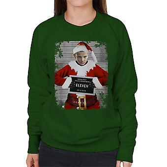 Christmas Mugshot Eleven Women's Sweatshirt