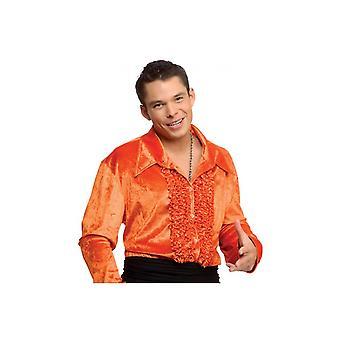 Costumes hommes velours disco chemise