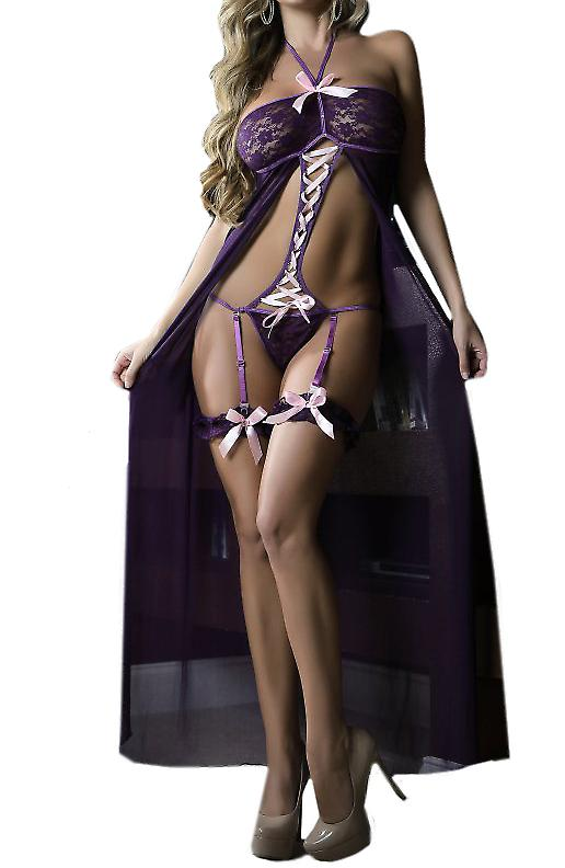 Waooh 69 - And Lace Lingerie Set Transparent Mailina
