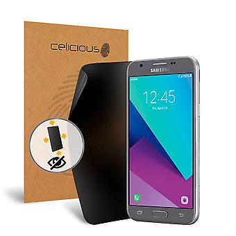 Celicious Privacy Plus 4-Way Anti-Spy Filter Screen Protector Film Compatible with Samsung Galaxy Amp Prime 2