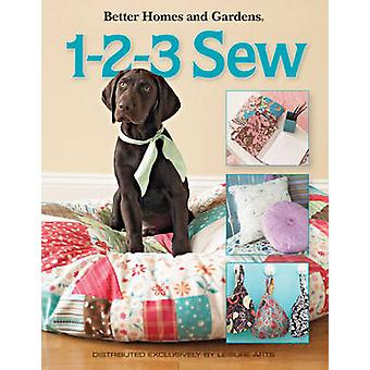 1-2-3 Sew by Meredith Corporation - 9781601406910 Book