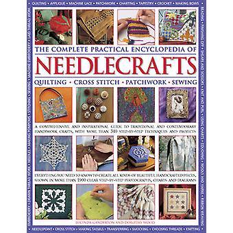 Den kompletta praktiska encyklopedien av Needlecrafts - quiltning Cross S
