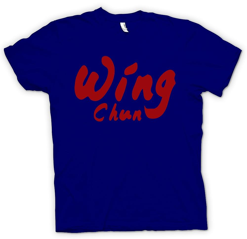 Heren T-shirt - Wing Chun - Martial Art - Slogan