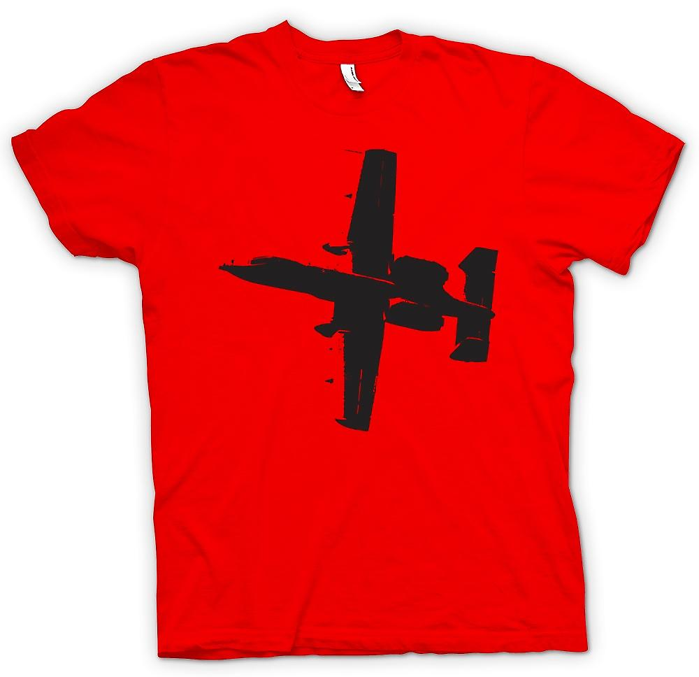 Heren T-shirt - A10 Thunderbolt Tank Buster - Awesome Fighter