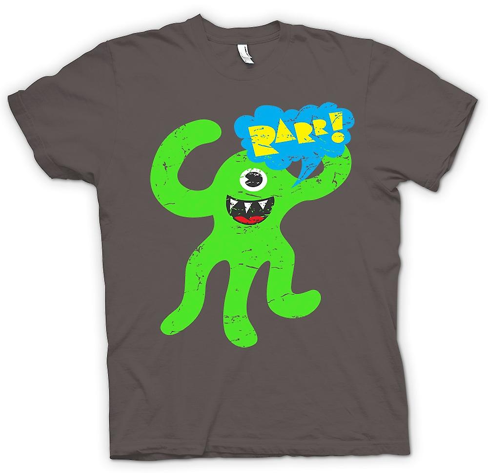 Womens T-shirt - Cool söta Monster - Raaarrr