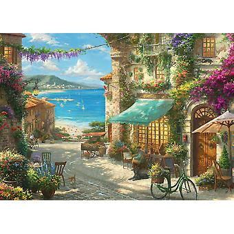 Gibsons Kinkade Italian Cafe Jigsaw Puzzle (1000 pieces)
