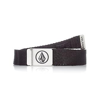 Volcom Stoney Black Circle Web belte
