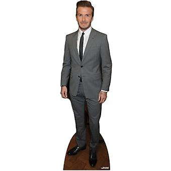 David Beckham - vestito stile cartone Lifesize ritaglio / Standee