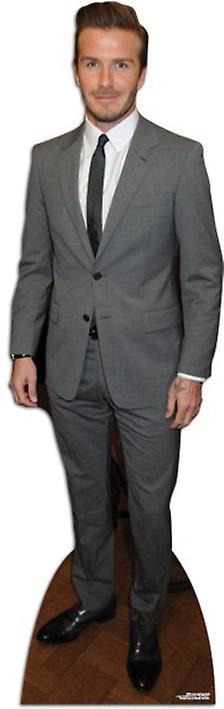 David Beckham - Suit Style Lifesize Pappausschnitt / Standee
