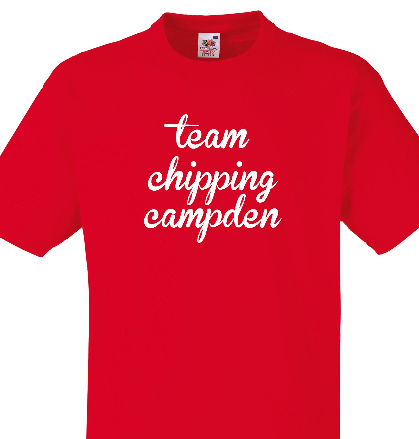 Team Chipping campden Red T shirt