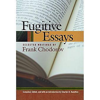 Fugitive essays