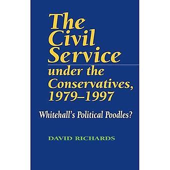 Servizio civile sotto i conservatori, 1979-1997: Whitehalls politico barboncini