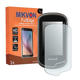 Garmin Oregon 600 screen protector - Mikvon FullEdge (screen protector with full protection and custom fit for the curved display)