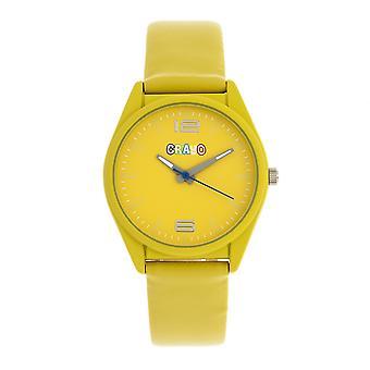 Crayo Dynamic Unisex Watch - Yellow
