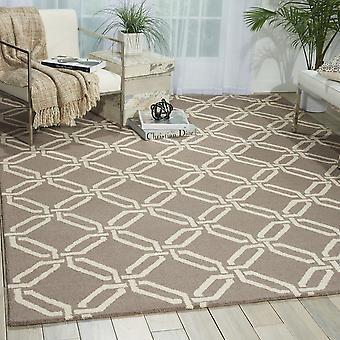Lineare LIN08 Silber Rechteck Teppiche moderne Teppiche