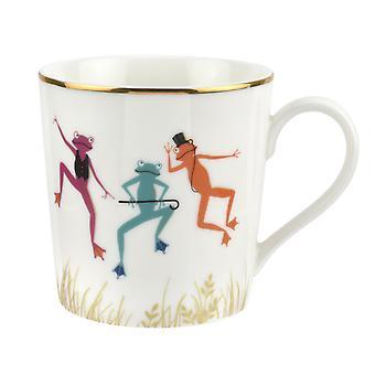 Sara Miller Piccadilly Mug Fine Frogs