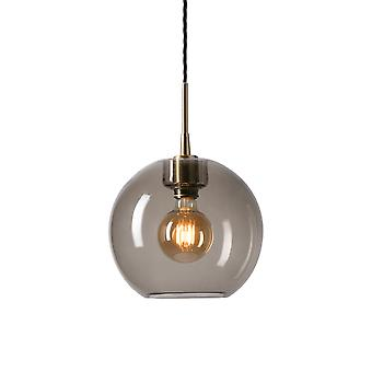 Belid - Gloria LED Pendant leichte Messing, geräuchert Glas Finish 10721073