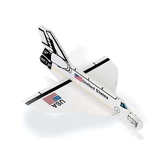 12 Space Shuttle Foam Gliders for Party Bags and Favours | Outer Space Crafts