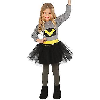 Jeunes filles Bat costumes de déguisements de super-héros