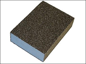 Faithfull Sanding Block - Coarse/ Medium 90 x 65 x 25mm
