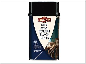 Liberon Liquid Wax Polish Black Bison Georgian Mahogany 500ml