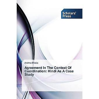 Accord dans le cadre de Coordination Hindi comme étude de cas de Christian Binet