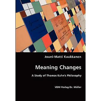 Meaning Changes by Kuukkanen & JouniMatti