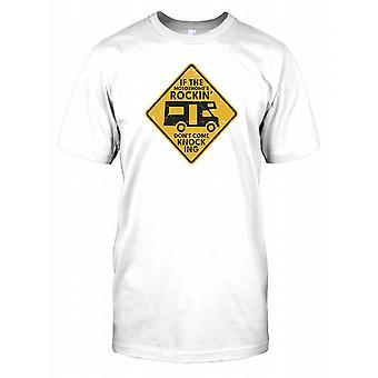 Si la autocaravana de Rockin ' no venga golpear hombre T Shirt
