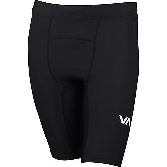 RVCA Mens Sport VA Compression Shorts - Black