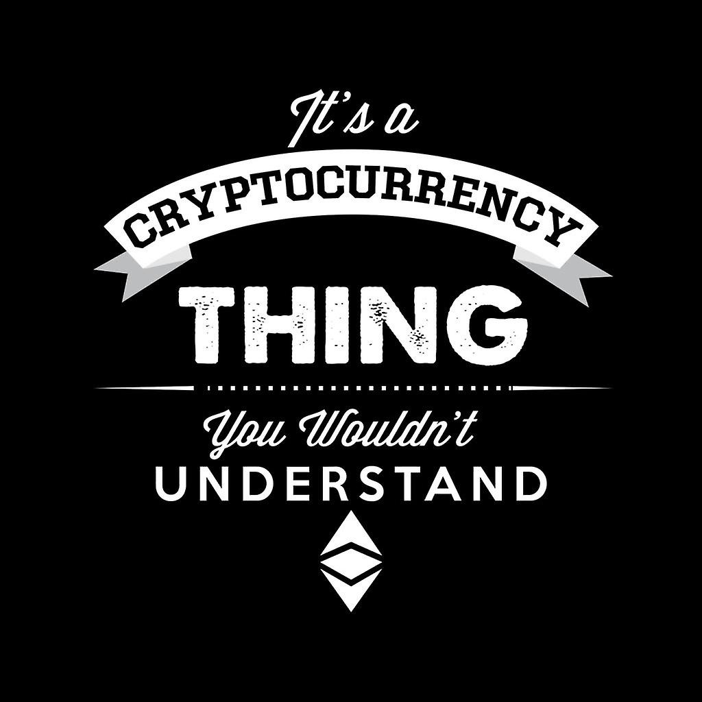 Its A Cryptocurrency Thing You Wouldnt Understand Men's Varsity Jacket