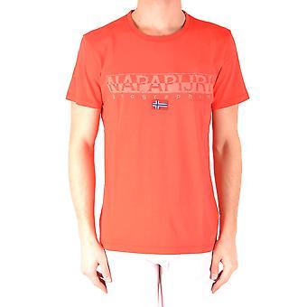 Napapijri Red Cotton T-shirt